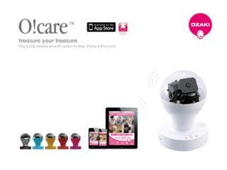 OZAKI O!Care, Plug & Play Wireless Smart IP Camera