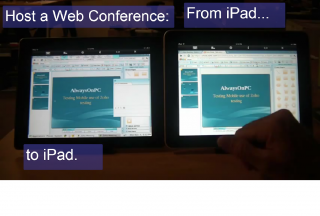 AlwaysOnPC Delivers Web Conference Hosting, Full Zoho and Office 365 Doc Editing on iPad & iPhone