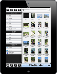 FileBender for iPad Simplifies File Management