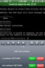SSH2GO - A Secure Shell Client for iPad and iPhone has been released