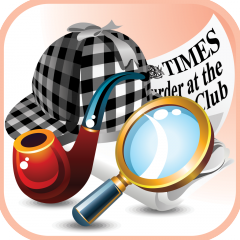 "Sherlock Holmes 1 – Murder at the Diogenes Club ""gamebook"" app available on the AppStore!"