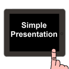 Simple Presentation – professional slide presentations on your iPad or iOS device
