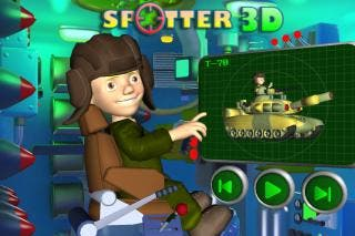 Spotter 3D - Kids Army (iPhone/iPad Game)