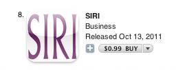 Siri, the non-Apple app
