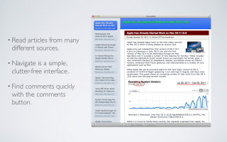 PAD Software introduces SimpleRSS 1.0 for Mac OS X - New RSS Feed Reader