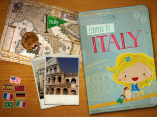 Best selling book Emma in Italy is now available for the iPad!