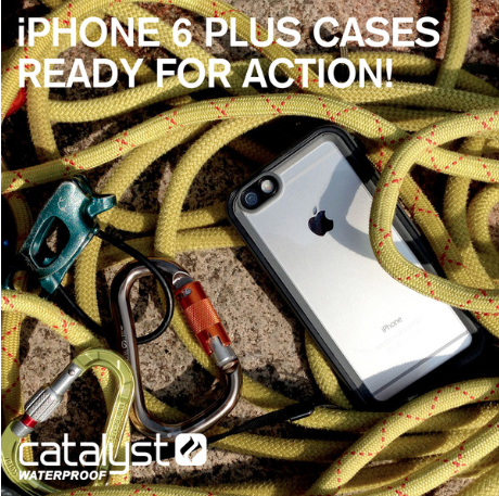 Catalyst Waterproof iPhone Case: Superior Protection for the iPhone 6 Plus