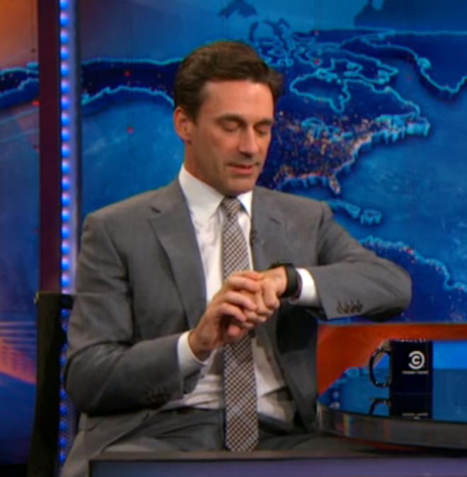 Jon Hamm Apple Watch