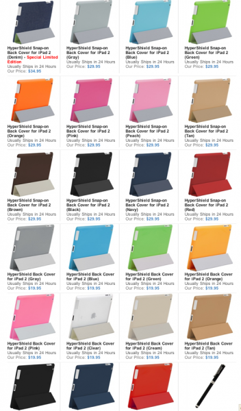 colors for HyperShield