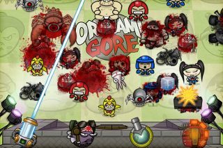 OrigamiGore, an unusual Castle Defense - now available for iPhone & iPad