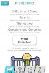 It's Bedtime! iPhone app based on Dr. Eduard Estivill's sleeping method