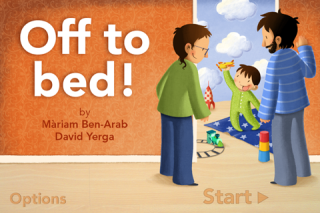 Off to bed! a sweet bedtime interactive book for iPhone.