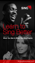 Sing Sharp - Personal Singing Teacher in Your Pocket