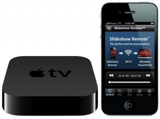 Slideshow Remote: First iPhone Application to Display PowerPoint Slides on Apple TV