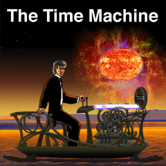 Children with dyslexia, reading issues, autism, LD and other learning issues can now enjoy reading The Time Machine by H.G. Wells