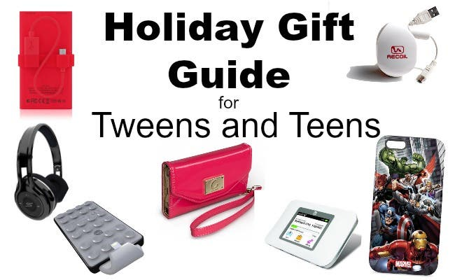 No more asking for Barbie dolls and Matchbox cars we re on to iPads   iPhones  and Bluetooth accessories. Gift Guide for Tweens and Teens   iPhoneLife com