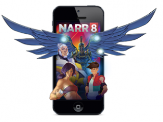 NARR8 LAUNCHES ON IPHONE© TO BRING HUGE STORIES TO THE SMALL SCREEN