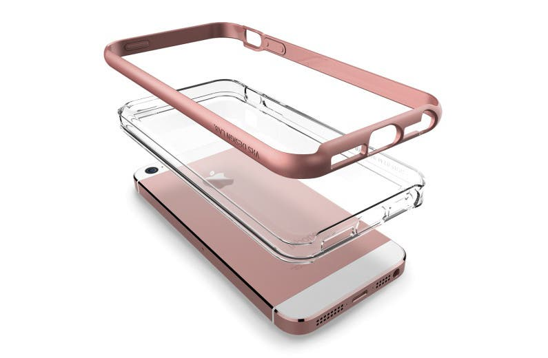 ... for Old iPhone 5s Cases; VRS Redesigns Cases Specially for iPhone SE