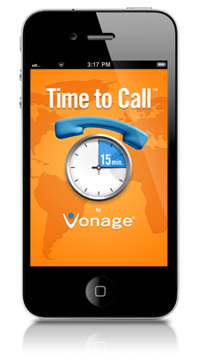 Vonage Time to Call App