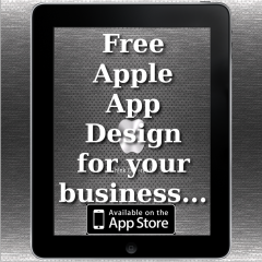 Smart looking iOS Apps for your business, get a free App design
