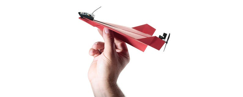 Forget Drones, Try a Remote-Controlled Paper Airplane