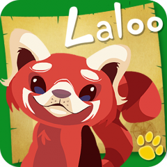 Help Save the Red Panda with Laloo the Red Panda for iPad