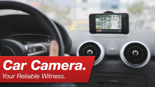 Car Camera DVR for iPhone and iPod touch. Your reliable witness
