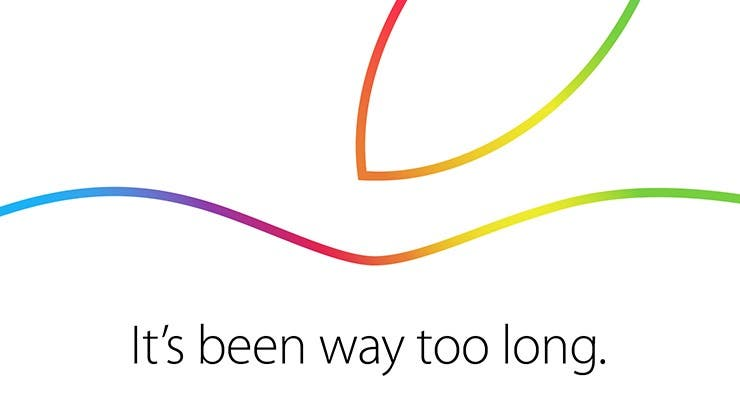 Apple's October 16th Invite Begs the Question: What's Been Too Long?