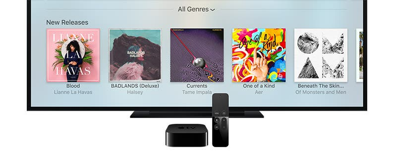 Apple TV Software Update Brings Suport for Siri Music Search and iOS Remote App