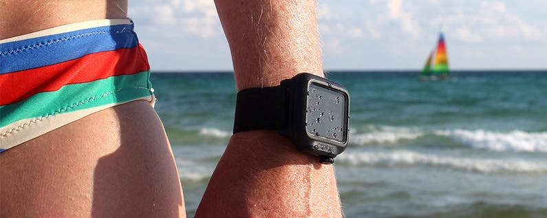 how to make apple watch 1 waterproof