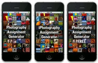 Unique Photography Assignment Generator Apps Released on the App Store