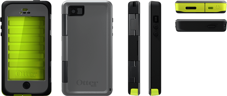 purchase cheap 552af 3048c Adventure-Proof Your iPhone 5 with the Otterbox Armor: Heavy-Weight ...