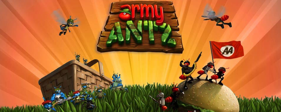 Army Antz Leverages Your iPad's Split Screen