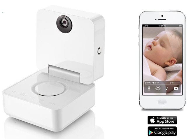want to watch over baby from your iphone you can with smart baby monitor. Black Bedroom Furniture Sets. Home Design Ideas