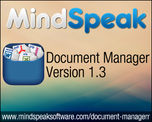 Irfan Farooqi Announces Document Manager Version 1.3 for iPhone and iPad
