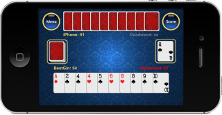 Best Gin Rummy Card Game for iOS - iPhone, iPad and iPod touch