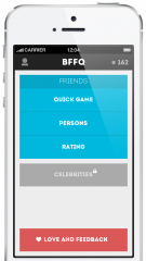 BFFQ: Quizzes about your friends based on Facebook Likes