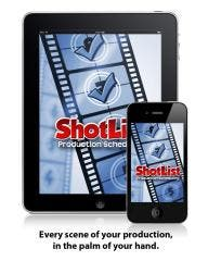 ShotList- iPhone App To Bring Order To Movie Shoots