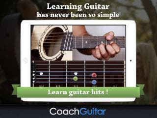 Coach Guitar - Learn to play guitar without theory or tabs