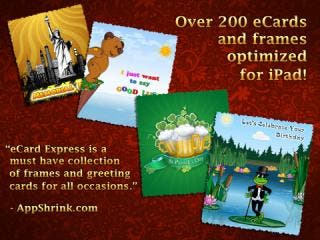 eCard Express HD for iPad - Personal and Business Greeting Cards
