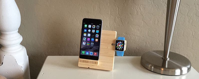 EAZZL iPhone and Apple Watch Dock