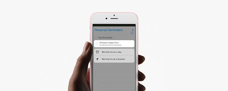 How to Edit Reminders with 3D Touch