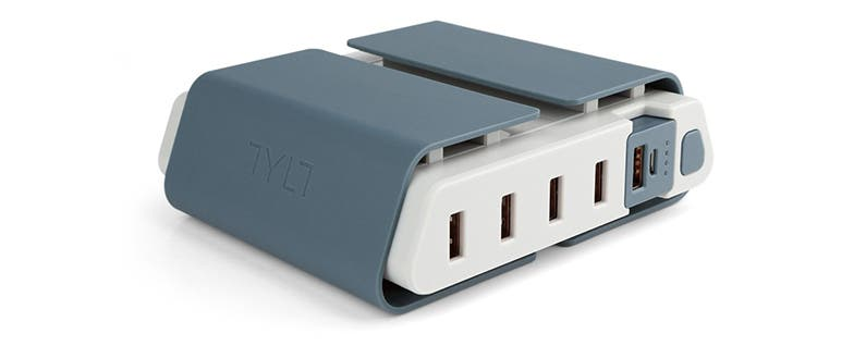 TYLT's ENERGI Charging Station Doubles as a Portable Battery