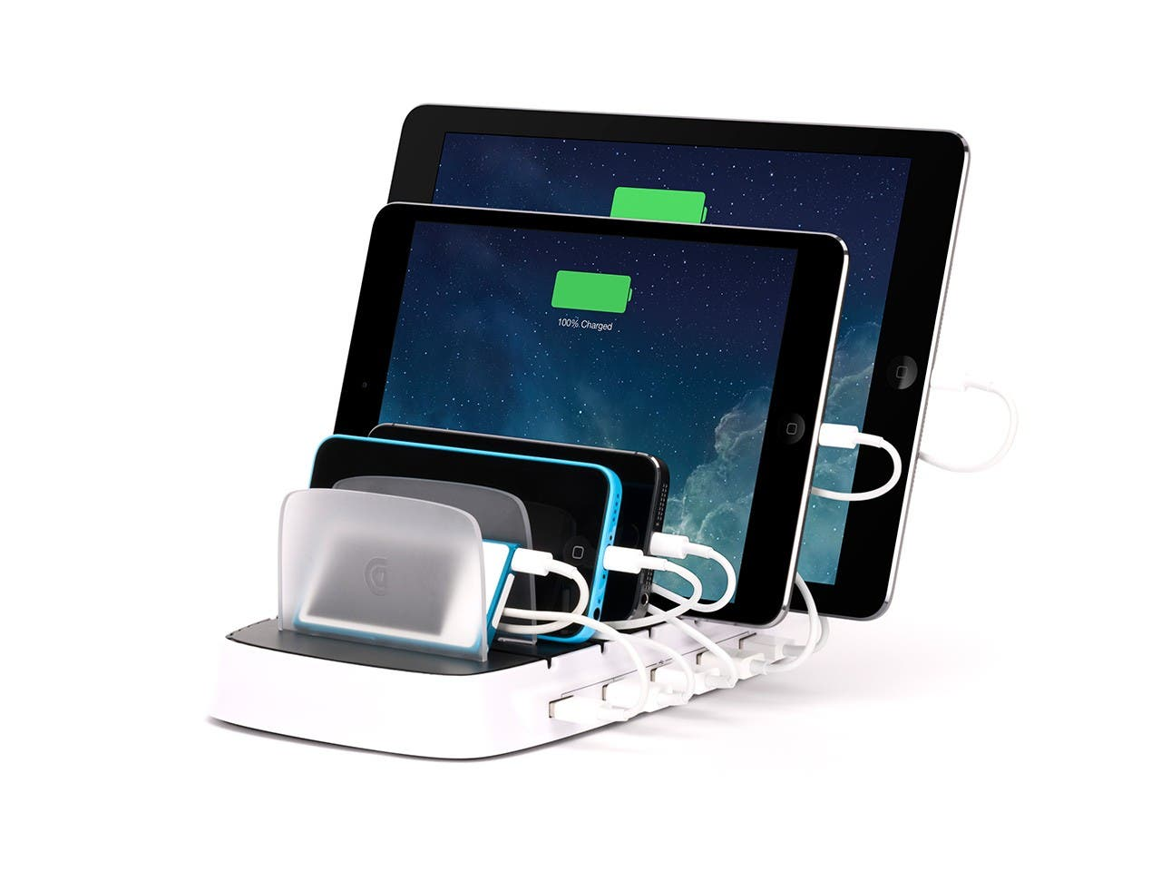 Griffin Charging Station Storage For 5 Ipad Devices