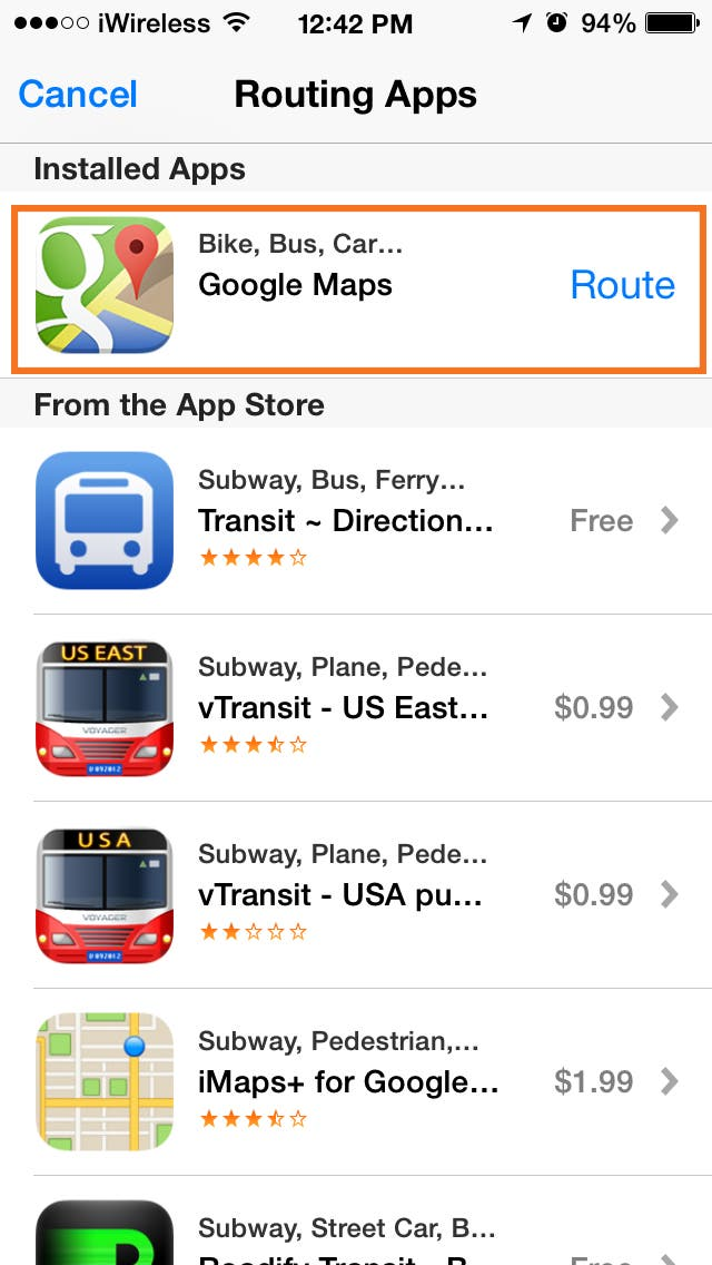 Tip of the Day: Use Siri to Get Directions from Google Maps ... Siri Google Maps on google notes, google messages, google ipod, google steve jobs, google apple, google pandora radio, google ge, google google, google skype, google facetime, google sunshine, google microsoft, google facebook, google cards, google cortana, google newsstand, google apps, google now, google fb, google instagram,