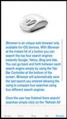iBrowser, the new free adult iPhone web browser.