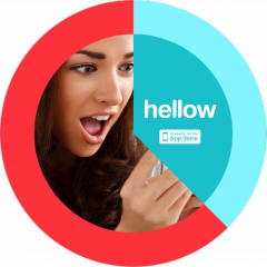 Hello, Hellow - Introducing the Newest Photo Sharing App With Time and Location-Based Delivery