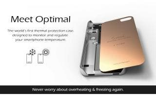 The phone case that saves your BATTERY: 'Optimal' thermal sleeve with micro fans stops your handset overheating
