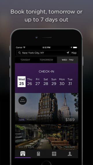 Unsold Hotel Room App