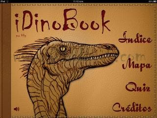 iDinobook - iOS Encyclopedia of Dinosaurs, a new way to look at dinosaurs.